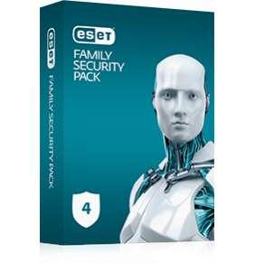 ESET Family Security Pack 4 zariadenia + update na 18 mesiacov - elektronická licencia