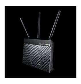 ASUS RT-AC68U Dual-Band Wireless Gigabit Router (2pack)  802.11ac, 1xGbE WAN, 4xGbE LAN, 1x USB3.0, 1x USB2.0,