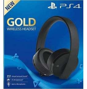 SONY PS4 Wireless 7.1 Headset - Gold/Black