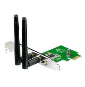 ASUS PCE-N15 Wireless N300 PCI-Express card, 802.11n, 300Mb/s
