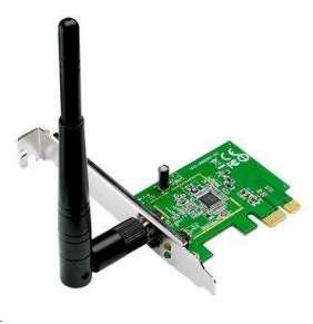 ASUS PCE-N10 Bezdrátový PCI-E Adapter 802.11b/g/n s rychlostí 150 Mb/s
