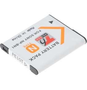 Baterie T6 power Sony NP-BN1, 650mAh, 2,3Wh, šedá