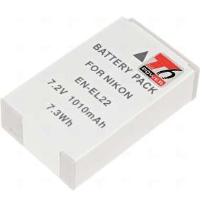 Baterie T6 power Nikon EN-EL22, 1010mAh, šedá