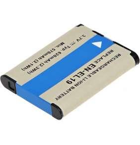 Baterie T6 power Nikon EN-EL19, NP-BJ1, 620mAh, 2.3Wh, černá