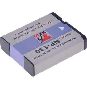 Baterie T6 power Casio NP-130, 1400mAh, 5,2Wh, černá