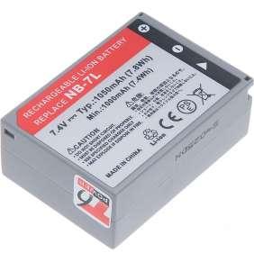 Baterie T6 power Canon NB-7L, 1050mAh, šedá