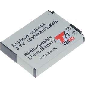 Baterie T6 power Samsung SLB-10A, BN-VH105, 1050mAh, 3,9Wh