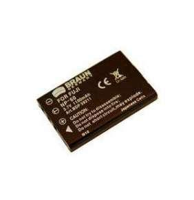 Braun akumulátor FUJI NP-60, Panasonic VBA-10/S301, Casio, Olympus, Toshiba, Samsung, 950mAh