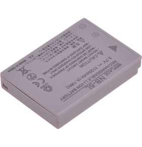 Baterie T6 power Canon NB-5L, 1120mAh, šedá