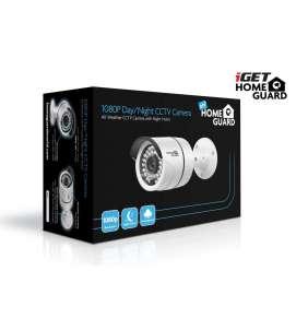 iGET HGPLM828 - CCTV FullHD 1080p barevná kamera IP66, BNC+Jack, noční přísvit IRLED 30m