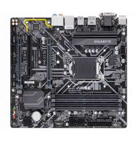 Gigabyte B365M D3H, LGA 1151, DDR4, PCIe Gen3 x4 M.2, HDMI, DP, DVI-D, D-Sub