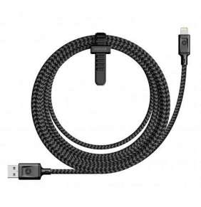 Nomad kábel Lightning to USB 3m - Black