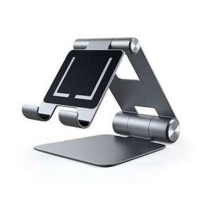 Satechi stojan R1 Hinge Holder Foldable Stand - Space Gray Aluminium