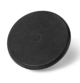 Decoded Leather Qi Wireless Charger - Black