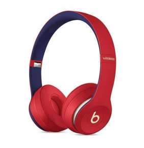 Beats Solo3 Wireless Headphones – Beats Club Collection – Club Red slúchadlá