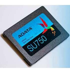Adata Ultimate SU750 3D NAND 2.5'' SSD 256 GB, SATA III 6Gb/s, R/W 550/520 MB/s