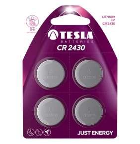 Tesla CR2430, 4 ks