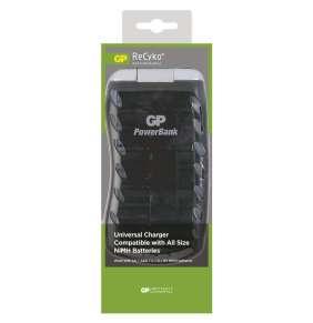 GP nabíječka baterií PB19 AA/AAA/C/D/9V, inteligentní, nabíjení 6-17hod