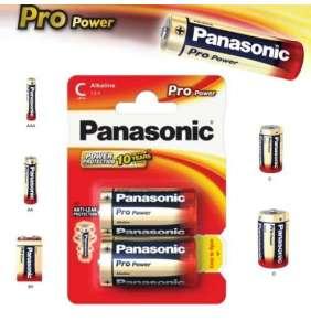 Alkalická baterie C Panasonic Pro Power LR14 2ks