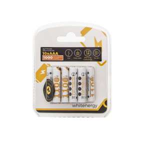 Whitenergy akumulátor AAA/R3 1100mAh 10ks. - blister