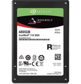 "Seagate SSD IronWolf 110 NAS 480GB, 2.5"" SATA 6Gb/s"