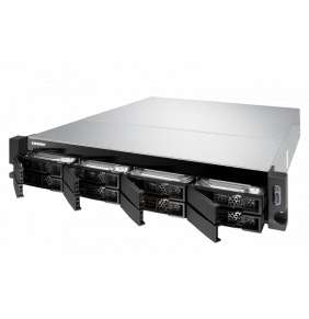 QNAP NAS TS-877XU-RP-2600-8G AMD Ryzen™ 5 2600 6-core/12-thread 3.4 GHz processor, Turbo Core 3.9 GHz 8 GB (2 x 4 GB) DDR4 UDIMM