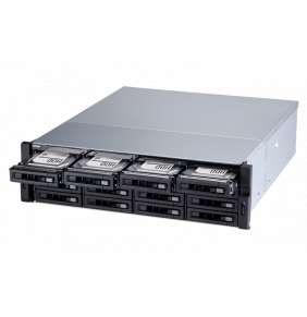 QNAP NAS TS-1677XU-RP-2600-8G AMD Ryzen™ 5 2600 6-core/12-thread 3.4 GHz processor, Turbo Core 3.9 GHz 8 GB (2 x 4 GB) DDR4 UDIM