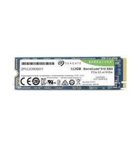 Seagate BarraCuda® 510 SSD, 512GB, M.2, PCIE