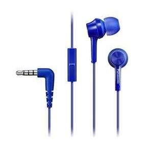 PANASONIC IN-EAR EARPHONES - BLUE (HEADSET)