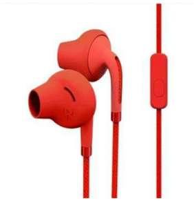 ENERGY Earphones Style 2+ Rapsberry, sluchátka s mikrofonem, 110±3dB, 3.5 mm mini jack