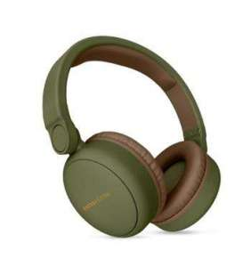 ENERGY Headphones 2 Bluetooth Green, komfortní circumaurální Bluetooth sluchátka, 93 ±3 dB