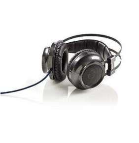 Nedis GHST400BK - Herní Sluchátka | Over-ear | Zpětná Vazba | Světlo LED | Konektory 3,5 mm USB