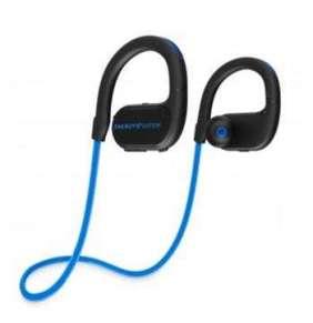 ENERGY Earphones BT Running 2 Neon Blue, Bluetooth sluchátka s LED osvětlením