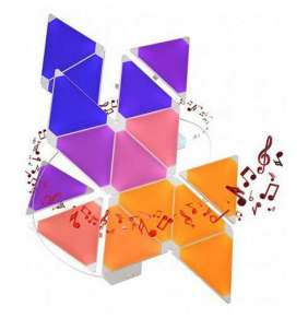 Nanoleaf Light Panels Smarter Kit - Rhythm Edition - 15PK