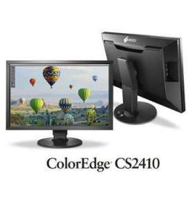 "EIZO MT IPS LCD LED 24"", CS2410 ,LCD: IPS-LED, 1920x1200,  K 1000:1, 50-300cd/m2, 14ms, 2x USB V3,  1x DVI(HDCP), 1x HDM"
