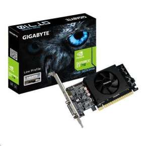 Gigabyte GV-N710D5-1GL, GT 710, 1GB GDDR5, 64bit, HDMI+DVI HDMI+DVI low profile