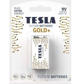TESLA - bateries 9V GOLD+, 1ks, 6LR61