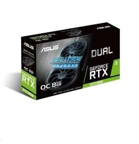 ASUS VGA NVIDIA DUAL-RTX2070S-O8G-EVO, RTX 2070  SUPER, 8GB GDDR6, 1xHDMI, 3xDP