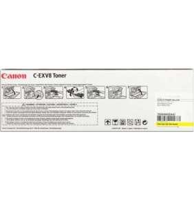 toner CANON C-EXV8 yellow iRC 2620N/3200/3220N, CLC 2620/3200/3220