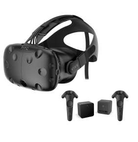 HTC Vive Virtual Reality Headset + 2x Motion Controller and 2x Lighthouse