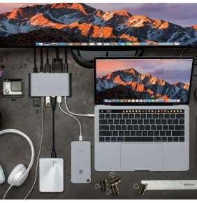 Hyper HyperDrive™ Ultimate USB-C Hub - Silver