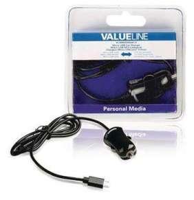 Valueline VLMB60890B10 - Nabíječka Do Auta 1-Výstup 2.1 A Micro USB, černá