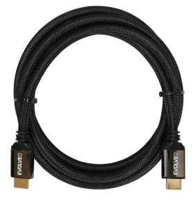 EVOLVEO XXtremeCord, kabel HDMI 2.0b, 1 metr, podpora UltraHD 4K2K/HDR