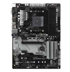 ASRock MB Sc AM4 B450 PRO4, AMD B450, 4xDDR4, VGA