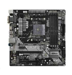 ASRock B450M PRO4, AM4, 4xSATA3, DDR4 3200, USB 3.0+3.1 (Type A+C)