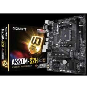 GIGABYTE MB Sc AM4 A320M-S2H V2, AMD A320, 2xDDR4, VGA, mATX