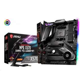 MSI MB Sc AM4 MPG X570 GAMING PRO CARBON WIFI, AMD X570, 4xDDR4, VGA, Wi-Fi