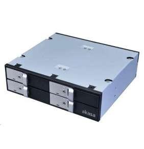 "AKASA HDD box Lokstor M22 / AK-IEN-02 / pro 4x2,5"" HDD/SSD disky do 5,25"" pozice"
