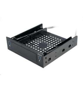 """AKASA montážní kit pro HDD do 5,25"""" s 2x USB 3.0"""