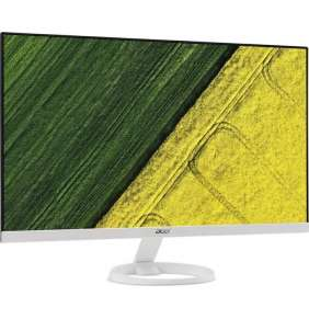 "ACER LCD R271B - 27"" IPS LED,FHD 1920x1080,100M:1,250cd/m2,178°/178°,1ms,VGA,DVI,HDMI,BlueLightFilter,White"